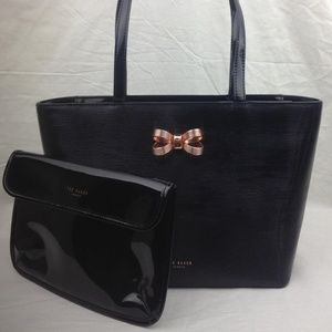 TED BAKER LONDON  Lamica Patent Leather Shopper